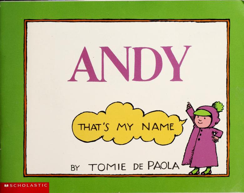 Andy That's My Name by